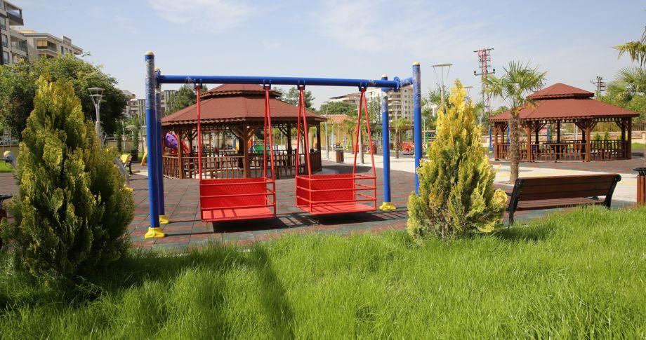 (videolu) Karaköprü'de Engelsiz Park Açılışa Hazır