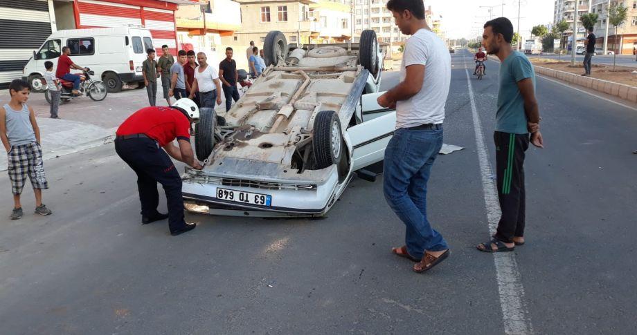 Viranşehir Ceylanpınar Karayolunda kaza