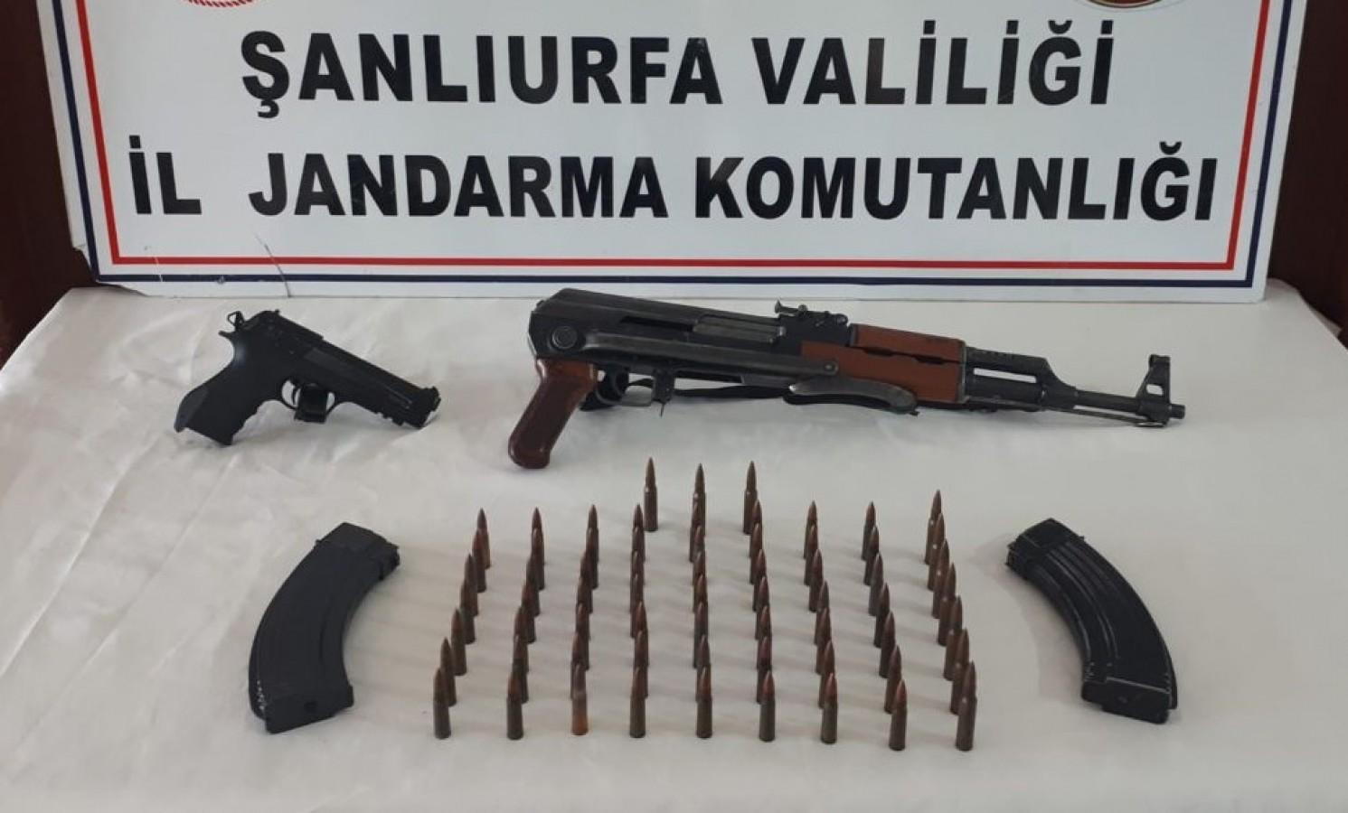 Viranşehir'de silah kaçakçılığı: 1 gözaltı