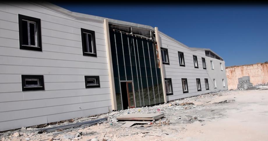 Viranşehir'de 600 Kişinin İstihdam Edileceği Giyim Fabrikası Bitme Aşamasına Geldi
