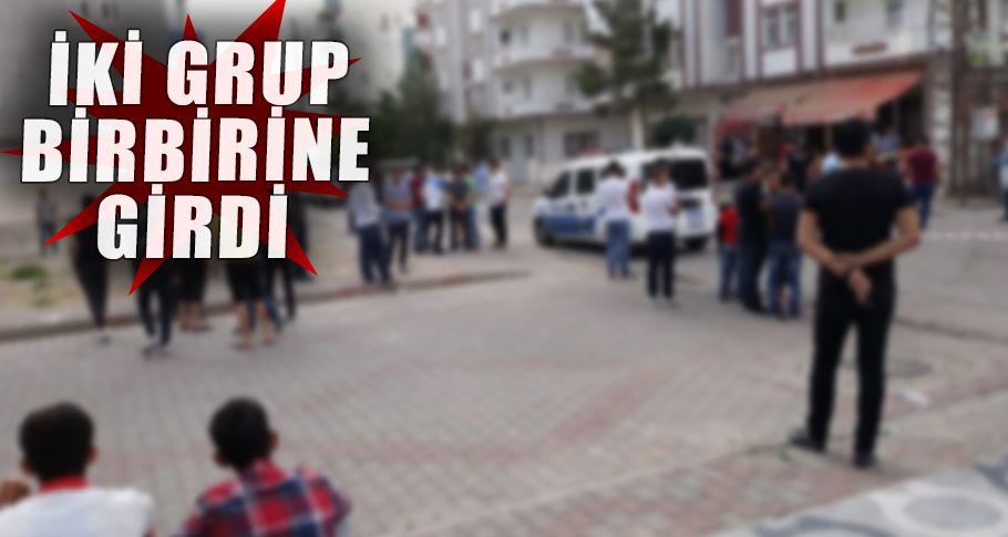 Viranşehir'de bıçaklı kavga!
