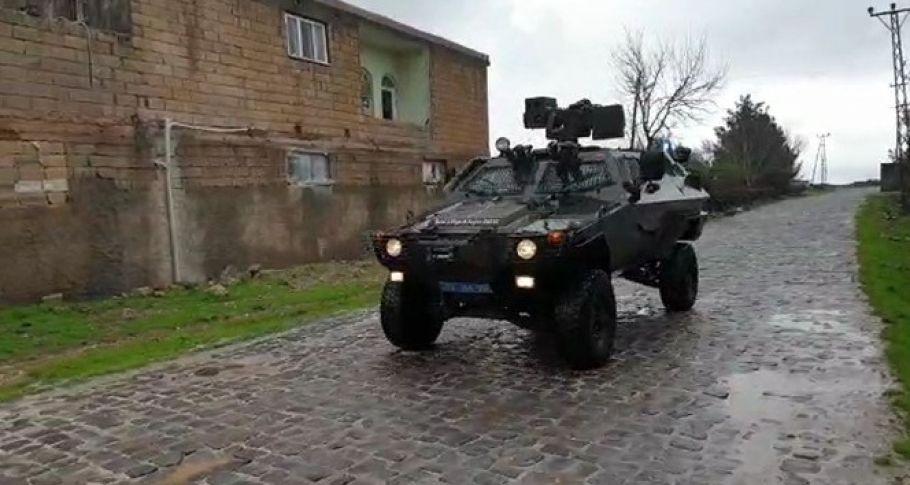 Viranşehir'de jandarma vatandaşları anonslarla ikaz ediyor