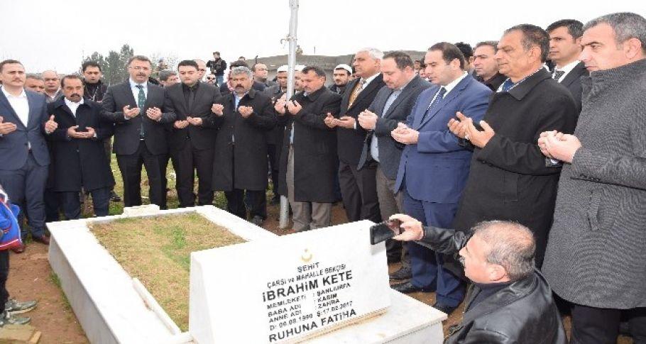 Viranşehir'de Şehit Olanlar İçin Anma Programı