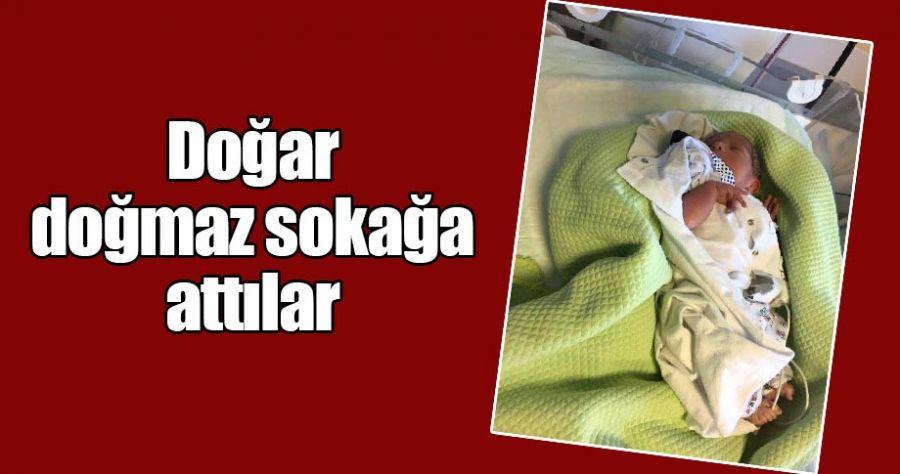 Viranşehir'de yeni doğan bebek parka bırakıldı