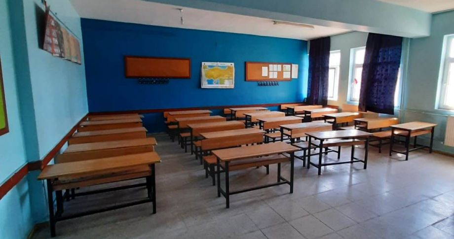 Viranşehir'deki Dumlupınar ilkokulu örnek okul olmaya aday
