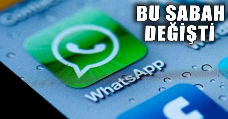 Whatsapp'ta yeni bir özellik daha!