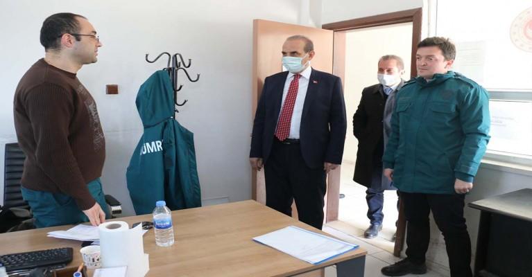 Yalçınkaya'dan Gümrük personellerine ziyaret