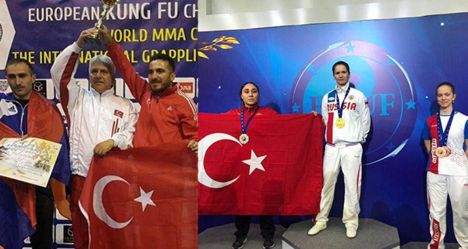 Yalovalı sporcular Rusya'dan madalyalarla döndü