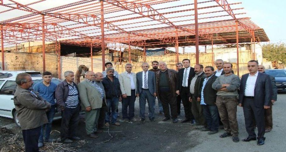 Yanan Oduncular Sitesi onarılıyor