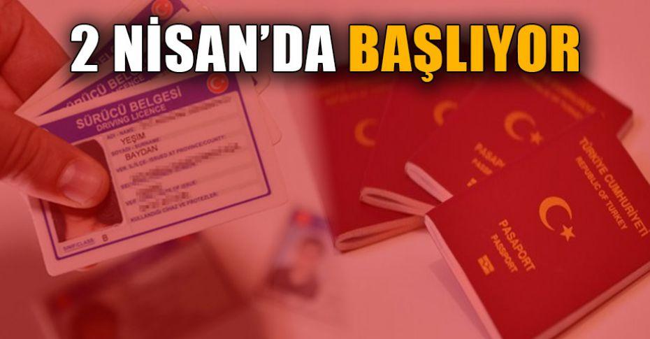 Yeni kimlik, ehliyet ve pasaportlarla ilgili kritik açıklama!