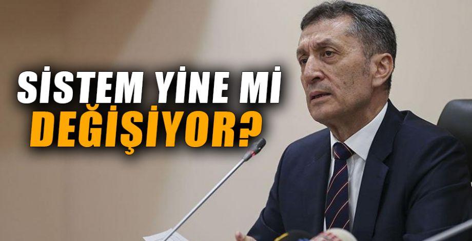 """Yeni Milli Eğitim Bakanı: """"Böyle sistem olmaz"""""""