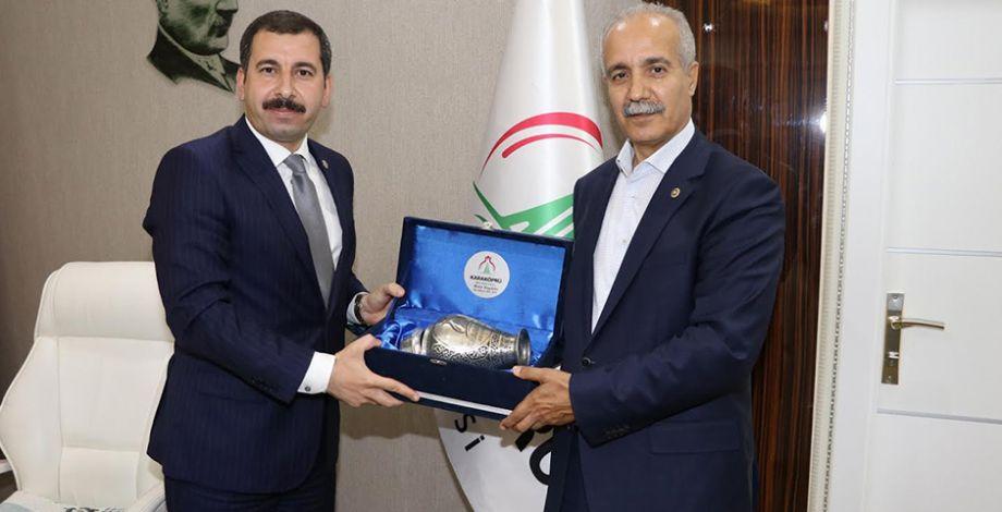 Yerel Yönetimler Başkan Yardımcısı Fırat'tan Baydilli'ye ziyaret