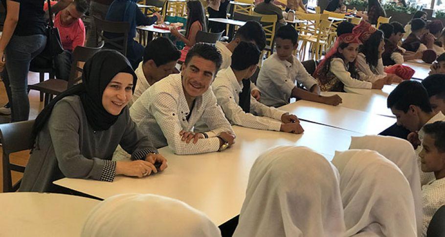 Yeşilyurt şubesi Suriyeli çocukları ağırladı