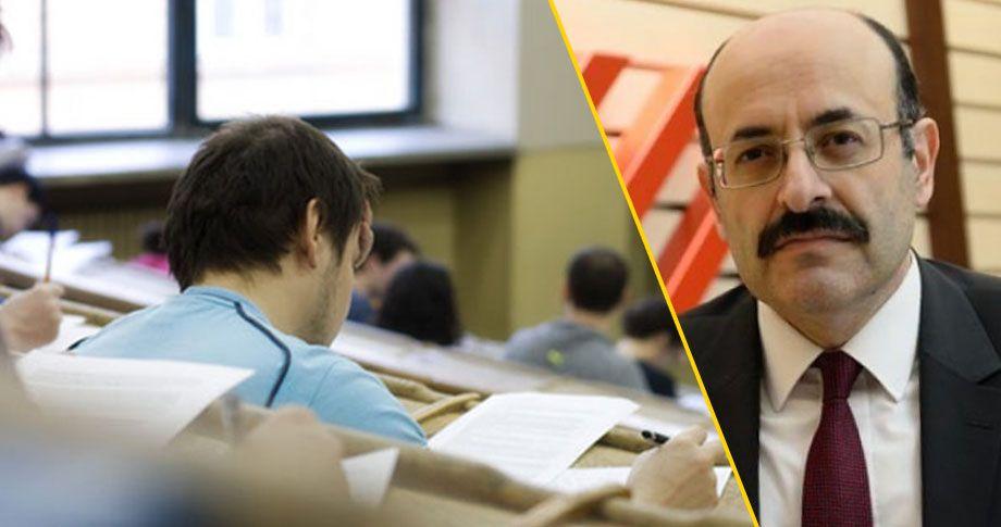 YÖK Başkanı, Üniversiye giriş sistemini açıkladı
