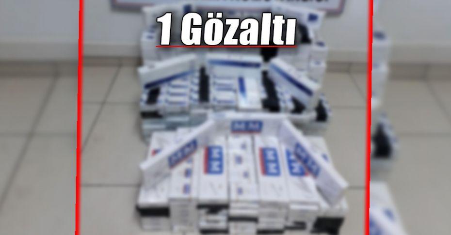 Yol uygulamasında 200 karton kaçak sigara ele geçirildi!