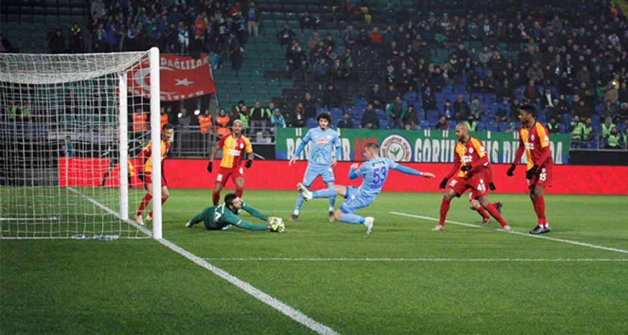 ZTK, Galatasaray-Rizespor karşılaşması